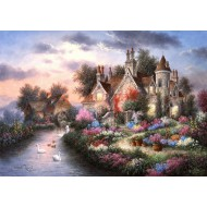 Puzzle  Grafika-T-00507 Dennis Lewan - Mill Creek Manor