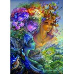 Puzzle  Grafika-T-00632 Josephine Wall - The Three Graces