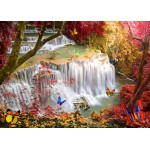Puzzle  Grafika-T-00679 Deep Forest Waterfall