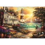 Puzzle  Grafika-T-00708 Chuck Pinson - Cottage by the Sea