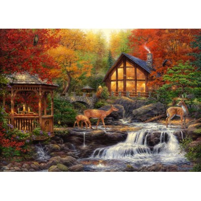 Puzzle Grafika-T-00737 Chuck Pinson - The Colors of Life
