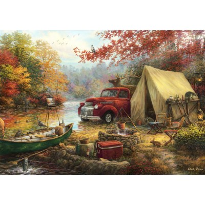 Puzzle Grafika-T-00776 Chuck Pinson - Share the Outdoors