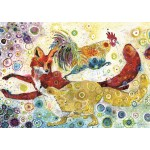Puzzle  Grafika-T-00880 Sally Rich - Leaping Fox's