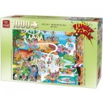 Puzzle  King-Puzzle-05189 Robert Crisp - Rocky Mountains Wide