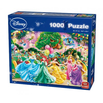 Puzzle King-Puzzle-05261 Disney Princesses - Feux d'Artifice