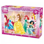 Puzzle  King-Puzzle-05280-B Disney Princesses