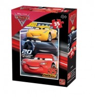 Puzzle  King-Puzzle-05309-F Cars 3