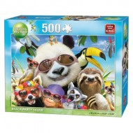 Puzzle  King-Puzzle-05329 Beach Party Selfies