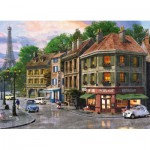 Puzzle  King-Puzzle-05357 Rues de Paris