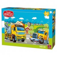 Puzzle  King-Puzzle-05522 Cargo Cars