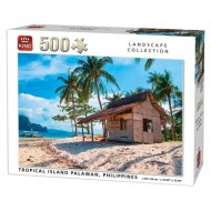 Puzzle  King-Puzzle-05535 Tropical Island