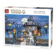 Puzzle  King-Puzzle-05723 Halloween Haunted House