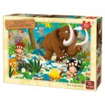 Puzzle  King-Puzzle-05791 Le Mammouth