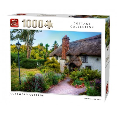 Puzzle King-Puzzle-05812 Cotswold Cottage