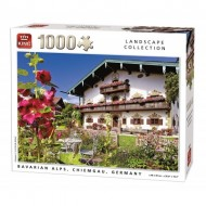 Puzzle  King-Puzzle-55854 Bavarian Alps Chiemgau