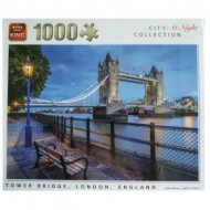Puzzle  King-Puzzle-55939 City Collection at Night - Tower Bridge, London, England