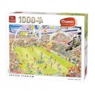 Puzzle  King-Puzzle-85576-A Soccer Stadium
