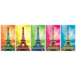 Puzzle  KS-Games-11223 Pop Art : Tour Eiffel