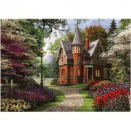 Puzzle  KS-Games-11294 Dominic Davison: Victorian Cottage in Bloom