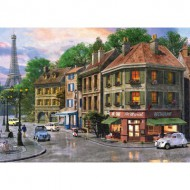 Puzzle  KS-Games-11307 Dominic Davison : Rue de Paris