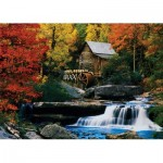 Puzzle  KS-Games-11336 Katherine Hurtley - Autumn Chalet