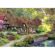 Puzzle  KS-Games-11354 Dominic Davison : Cottage sur le Chemin Forestier