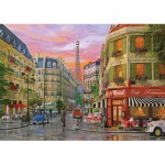 Puzzle  KS-Games-11357 Dominic Davison - Rue de Paris