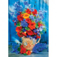 Puzzle  KS-Games-11362 Printemps Bleu