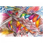 Puzzle  KS-Games-20512 Colorfull Abstract