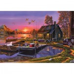 Puzzle  KS-Games-22502 Lakeside Cottage