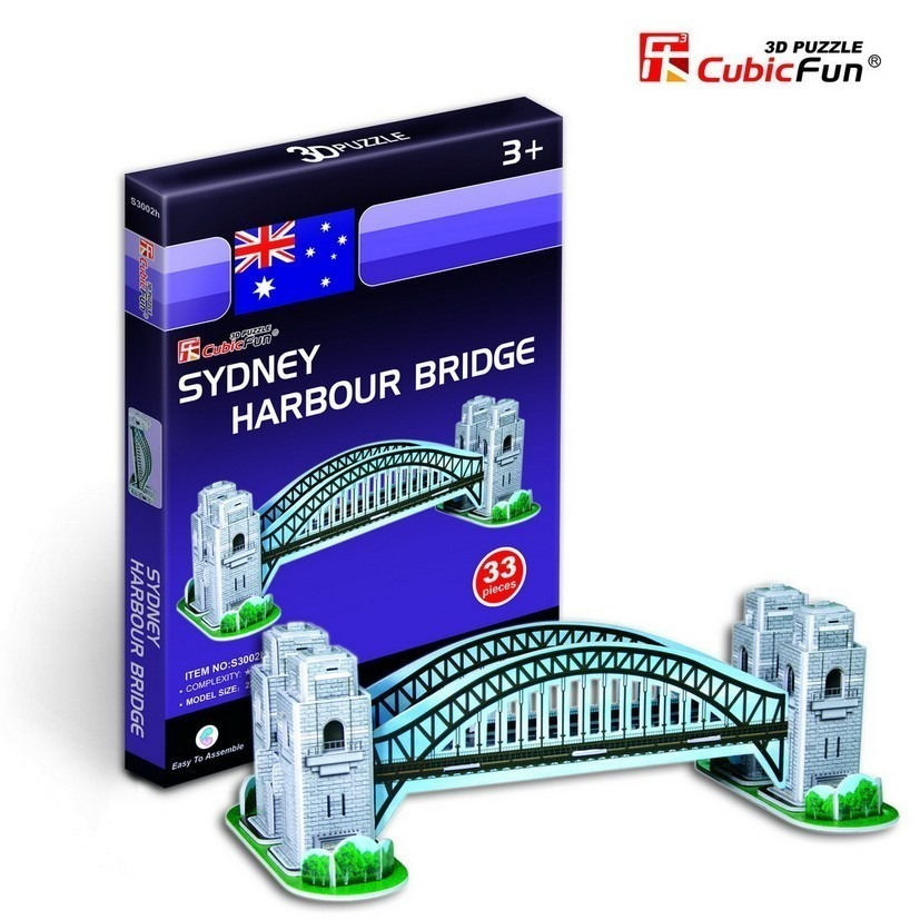 puzzle-3d-serie-mini-autralie-sydney-harbour-bridge-difficulte-2-8-