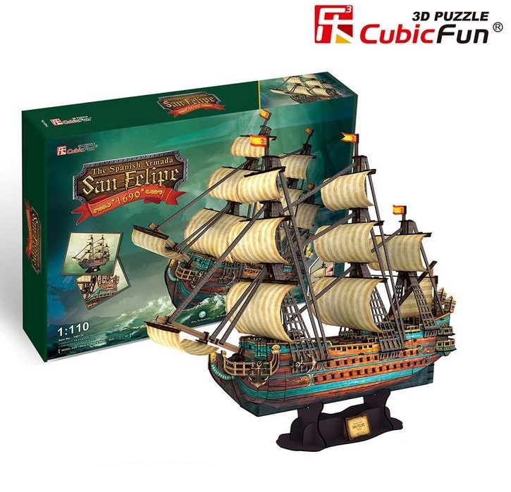 puzzle-3d-the-spanish-armada-san-felipe-difficulte-8-8