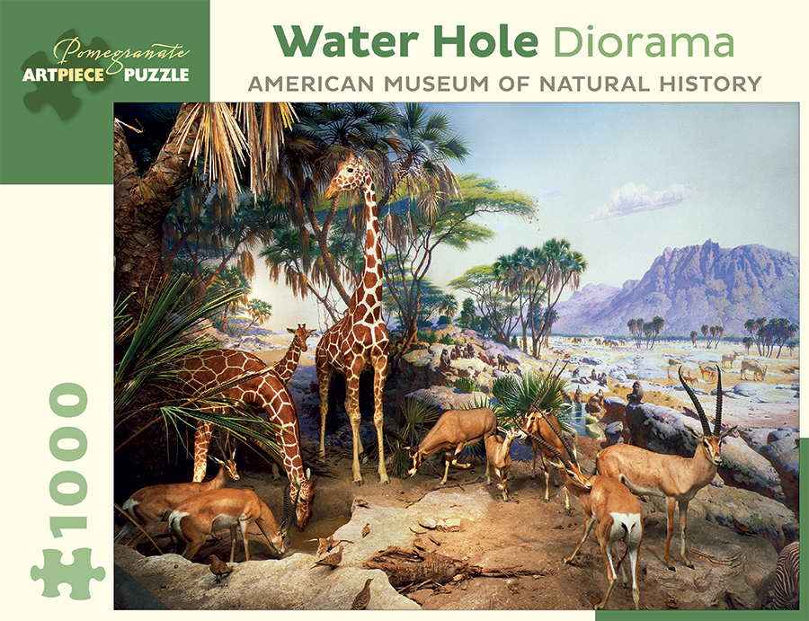 water-hole-diorama-american-museum-of-natural-history, 14.95 EUR @ fou