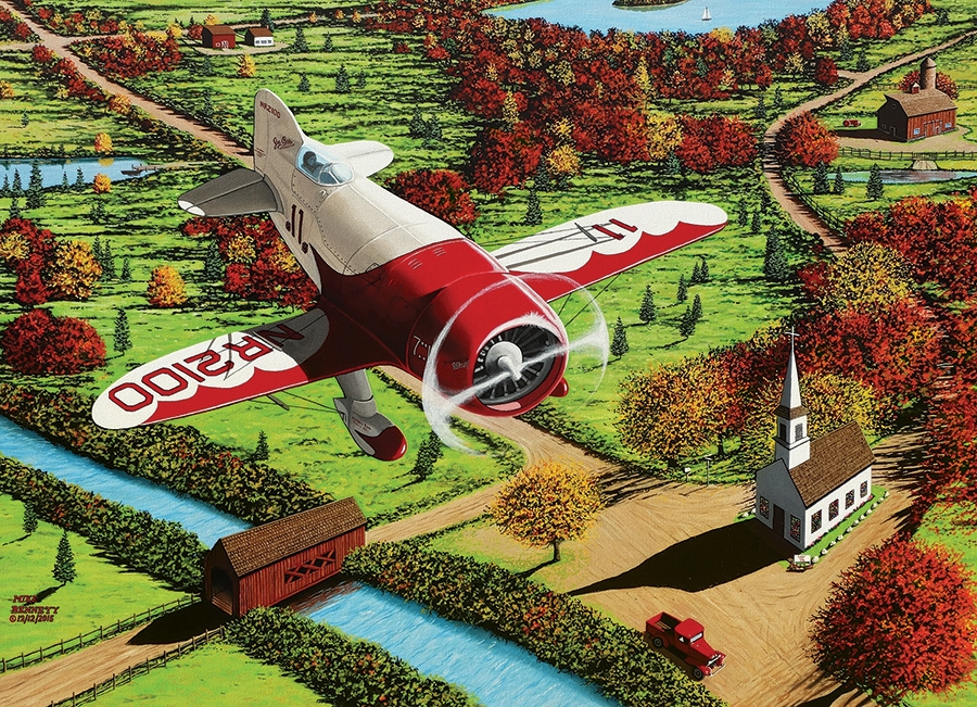 mike-bennett-gee-bee-over-new-england