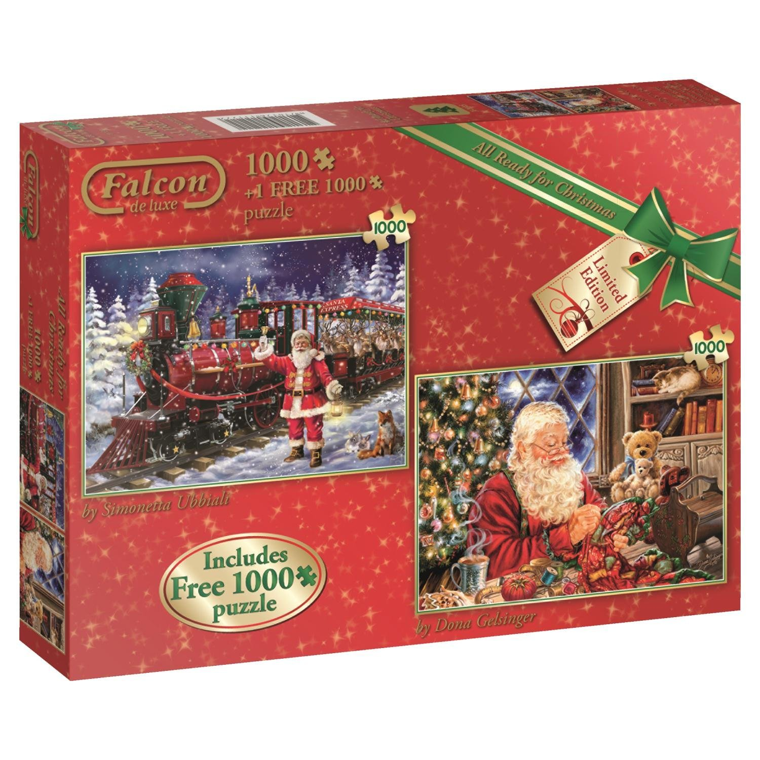 2 Puzzles - All Ready for Christmas