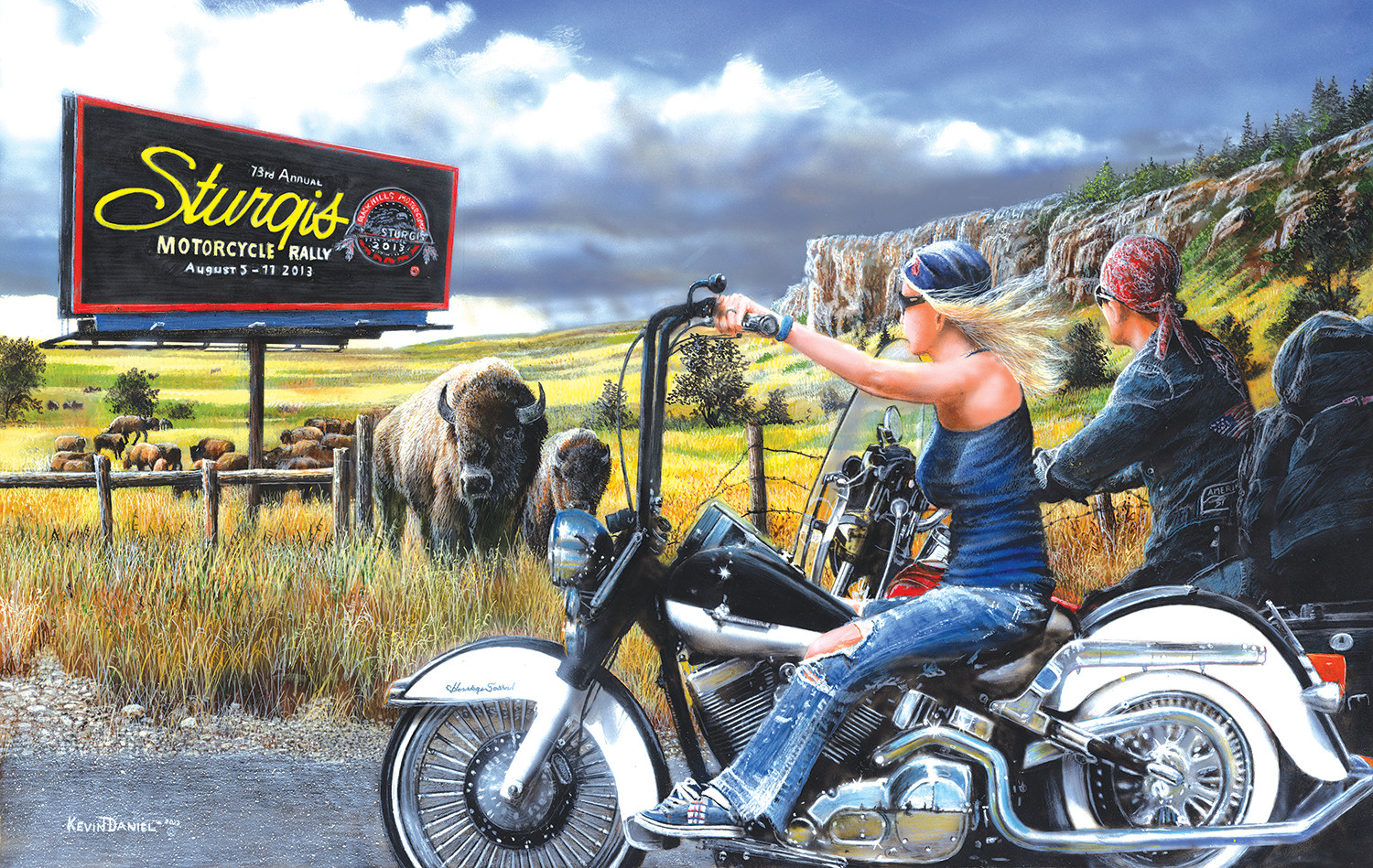 kevin-daniel-heading-for-sturgis, 12.95 EUR @ fou