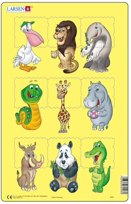 puzzle-cadre-bebes-animaux