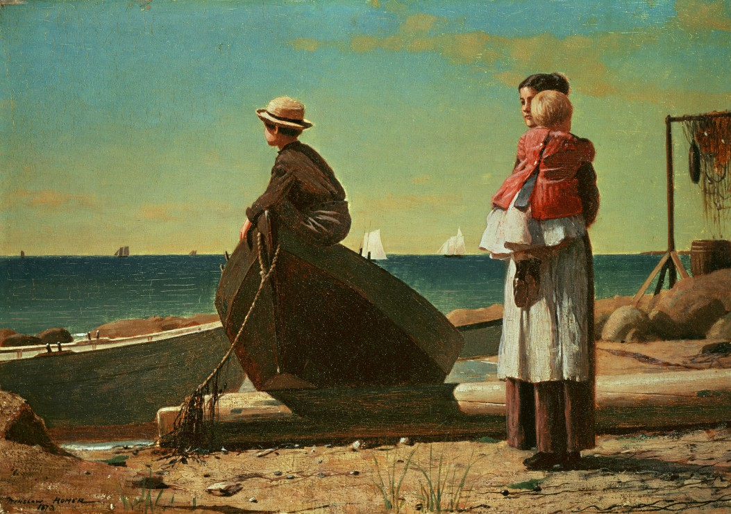 winslow-homer-dads-coming-1873, 14.95 EUR @ fou