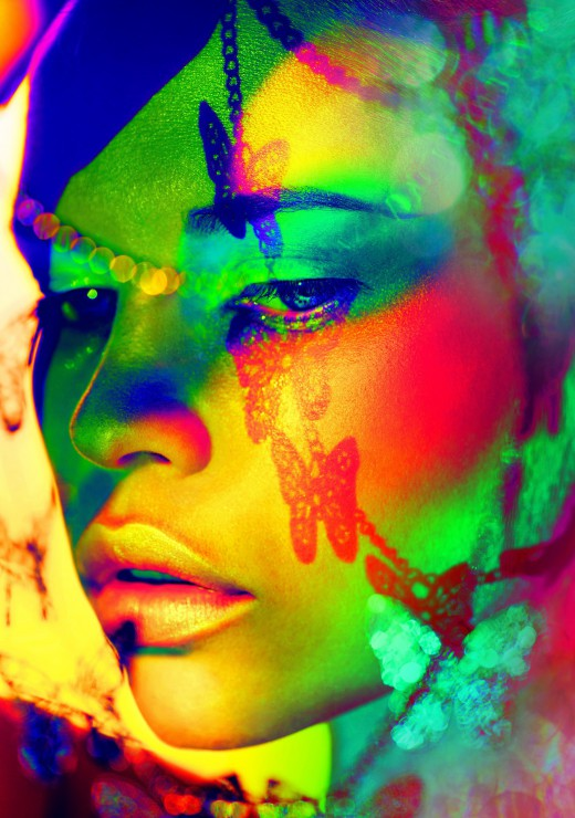 woman-color-face-art