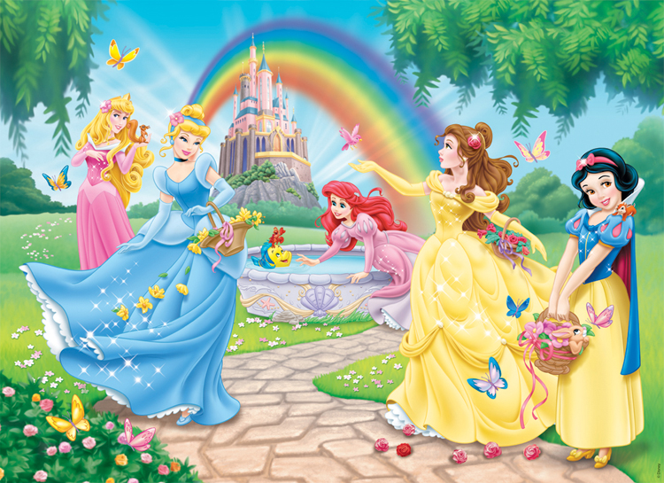 Disney Princess : Le Jardin des Princesses