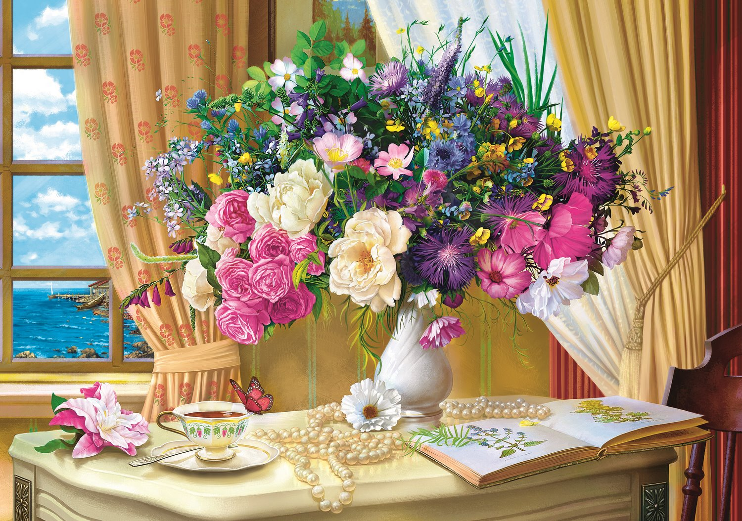 flowers-in-the-morning