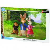 Nathan-86117 Puzzle Cadre - Pierre Lapin