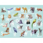 Puzzle  Nathan-86318 ABC Animaux