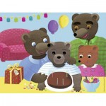 Puzzle  Nathan-86380 Petit Ours Brun