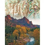 Puzzle  New-York-Puzzle-NG1850 Zion National Park Mini