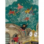 Puzzle  New-York-Puzzle-SW2012 Pièces XXL - Transit Posters - Starbright