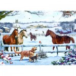 Puzzle  Otter-House-Puzzle-74739 Christmas On The Farm