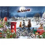 Puzzle  Otter-House-Puzzle-75099 Christmas Delivery