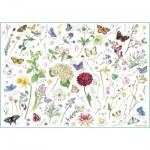 Puzzle  Otter-House-Puzzle-75509 Madeleine Floyd - Flowers & Butterflies