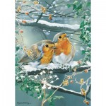 Puzzle  Otter-House-Puzzle-75839 Frosty Friends